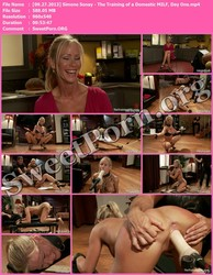 TheTrainingOfO.com [09.27.2013] Simone Sonay - The Training of a Domestic MILF, Day One Thumbnail